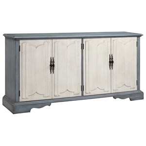 Morris Home Furnishings Cabinets 4-Door Cabinet