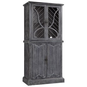 Morris Home Furnishings Cabinets 4-Door Tall Cabinet