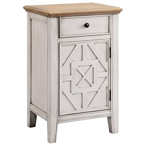 Morris Home Furnishings Cabinets 1-Door 1-Drawer Cabinet