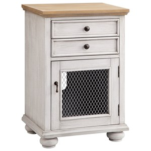 Morris Home Furnishings Cabinets 1-Door 2-Drawer Cabinet