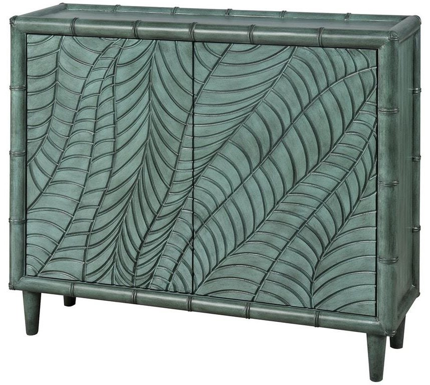 Cabinets Puncak Galapagos Green Cabinet by Stein World at Johnny Janosik