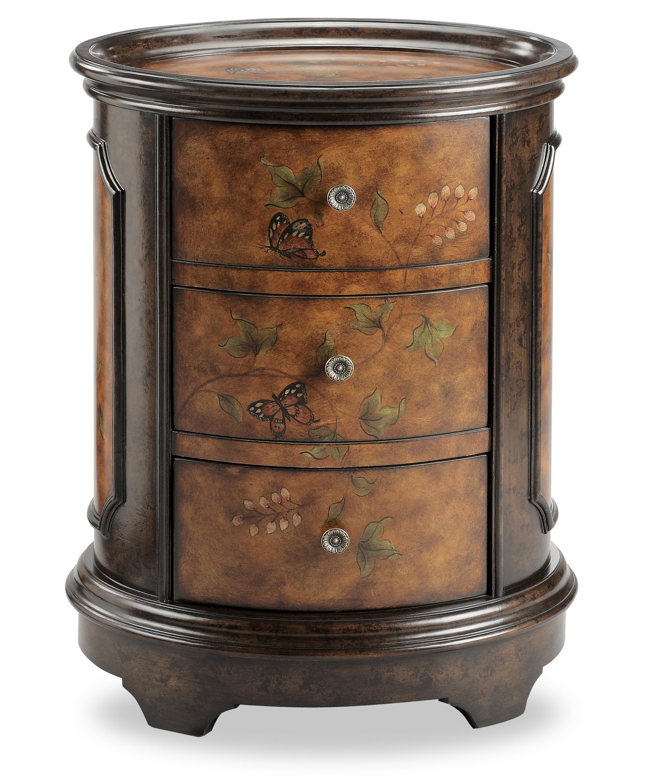 oval accent table oval accent table stein world chests 80878 with butterfly motif