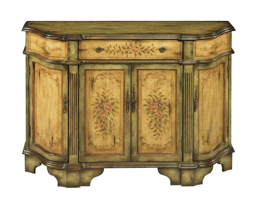 Stein World Credenzas Sage Green And Beige Credenza Dream Home Furniture Occasional Cabinet