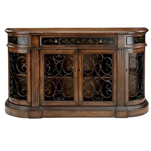 Morris Home Furnishings Credenzas Medium Brown Credenza