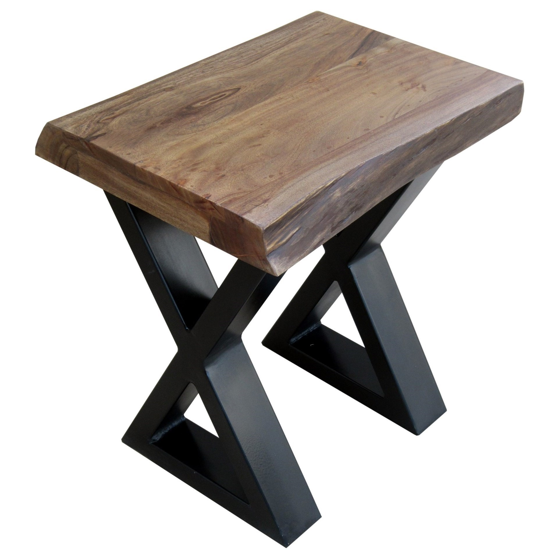 Stein World Living On The Edge Chairside Table   Item Number: 321 041