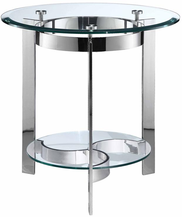 Stein World Mercury Round End Table - Item Number: 410-023