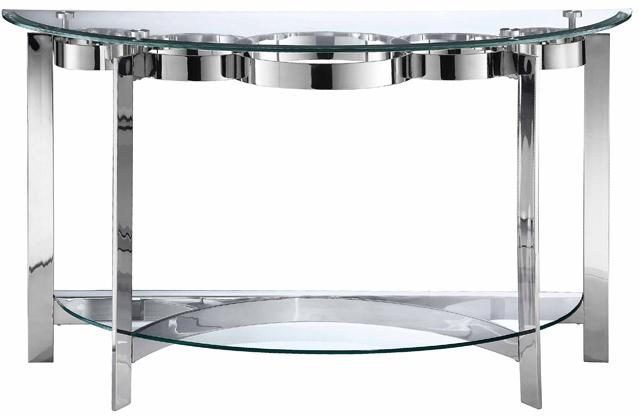 Stein World Mercury Demilune Sofa Table - Item Number: 410-032
