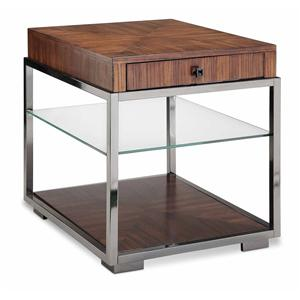 Stein World Contemporary-Palermo Rectangular End Table