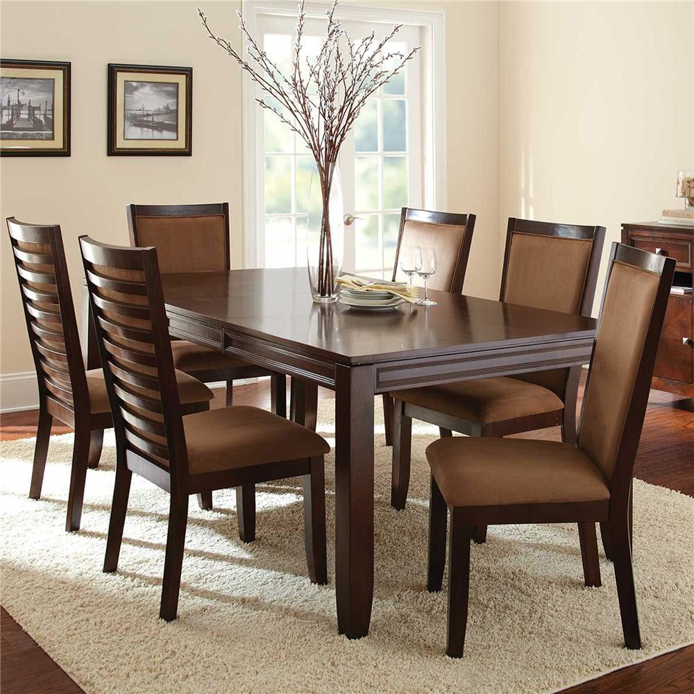 Steve Silver Cornell 5Pc Dining Room - Item Number: CN500T+4x500S