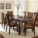 Steve Silver Cornell 7Pc Dining Room - Item Number: CN500T+6x500S