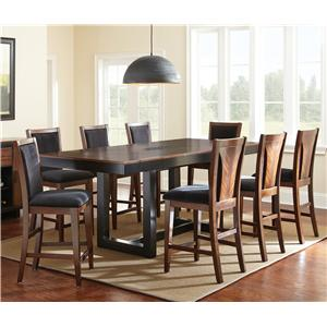 Steve Silver Julian 7 Piece Counter Height Dining Set