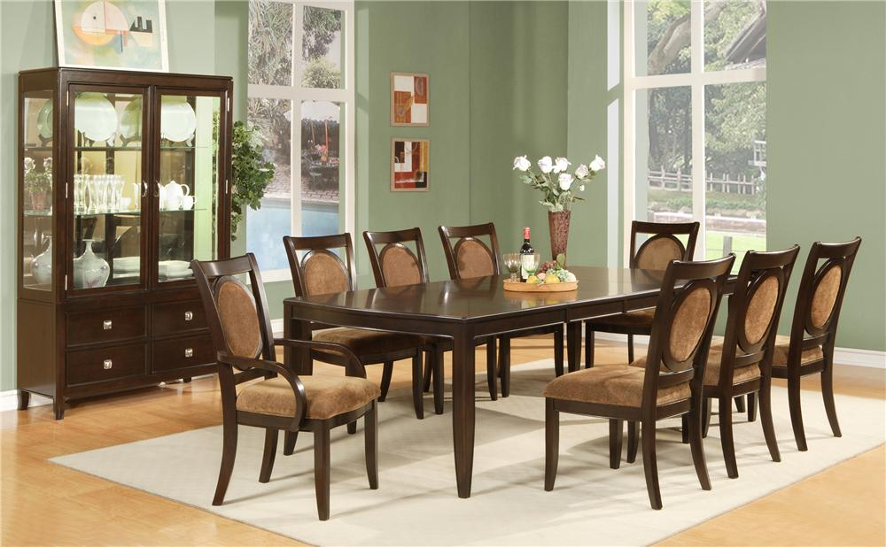 Steve Silver Montblanc 9Pc Dining Room - Item Number: MB-9PC