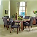 Steve Silver Montibello 5Pc Dinette - Item Number: MN-5Pc