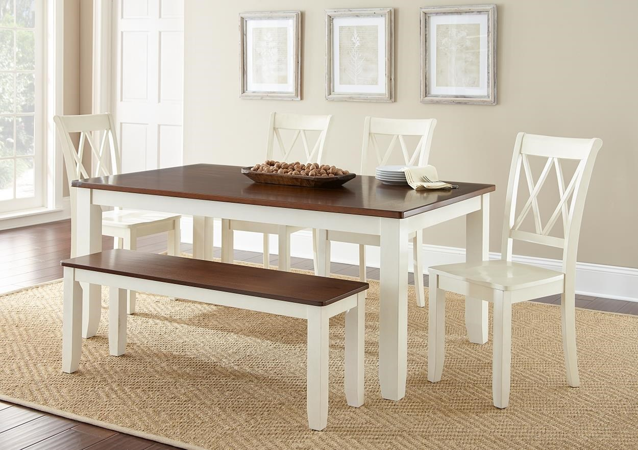 Aida Vanilla Table & 6 Chairs