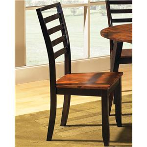 Morris Home Abaco Ladder Back Side Chair