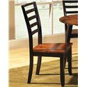 Steve Silver Abaco Ladder Back Side Chair - Item Number: AB300S