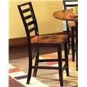 Vendor 3985 Abaco Ladder Back Counter Stool - Item Number: AB500CC