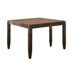 "54"" Square Counter Height Leg Table"