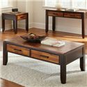 Morris Home Abaco Rectangular Cocktail Table - Item Number: AB600C
