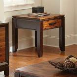 Steve Silver Abaco End Table with Drawer - Item Number: AB600E