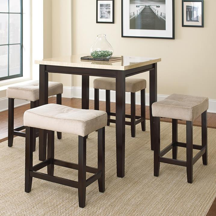 Steve Silver Aberdeen 5 Piece Counter Table Set - Item Number: AB3636