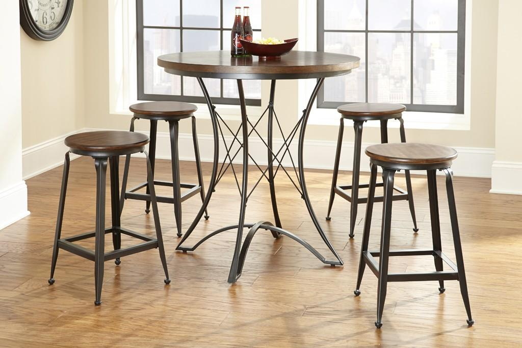 Prime Adele Counter Stool With Wood Seat And Metal Base Prime Brothers Furniture Bar Stool