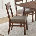 Steve Silver Adeline Upholstered Dining Side Chair - Item Number: AE500S