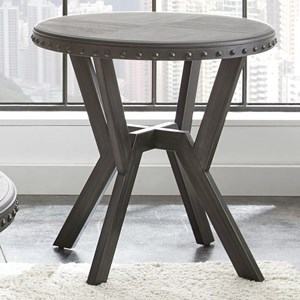 Steve Silver Alamo Round End Table