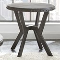 Vendor 3985 Alamo Round End Table - Item Number: AL700E