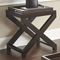 Morris Home Alanis End Table w/Tray - Item Number: AN250E