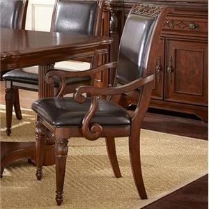 Vendor 3985 Alberta Upholstered Arm Chair