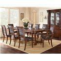 Morris Home Furnishings Alberta Bi-cast Leather Upholstered Side Chair