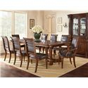 Morris Home Furnishings Alberta Dining Table with 2 18