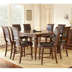 Vendor 3985 Alberta 9 Piece Counter Height Dining Set