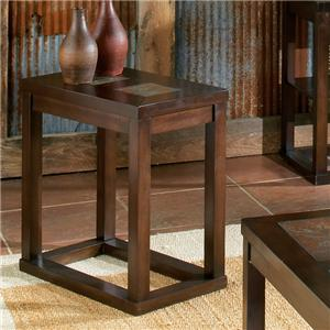 Morris Home Furnishings Alberto End Table
