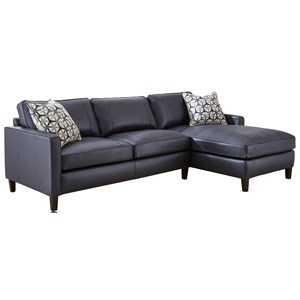 Vendor 3985 Alder 2 Piece Sectional