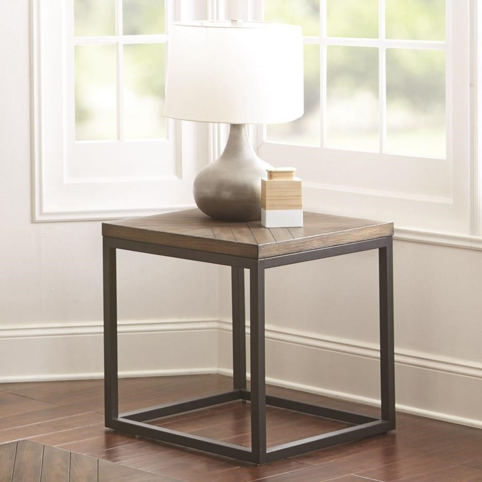 Aleka End Table by Steve Silver at Van Hill Furniture