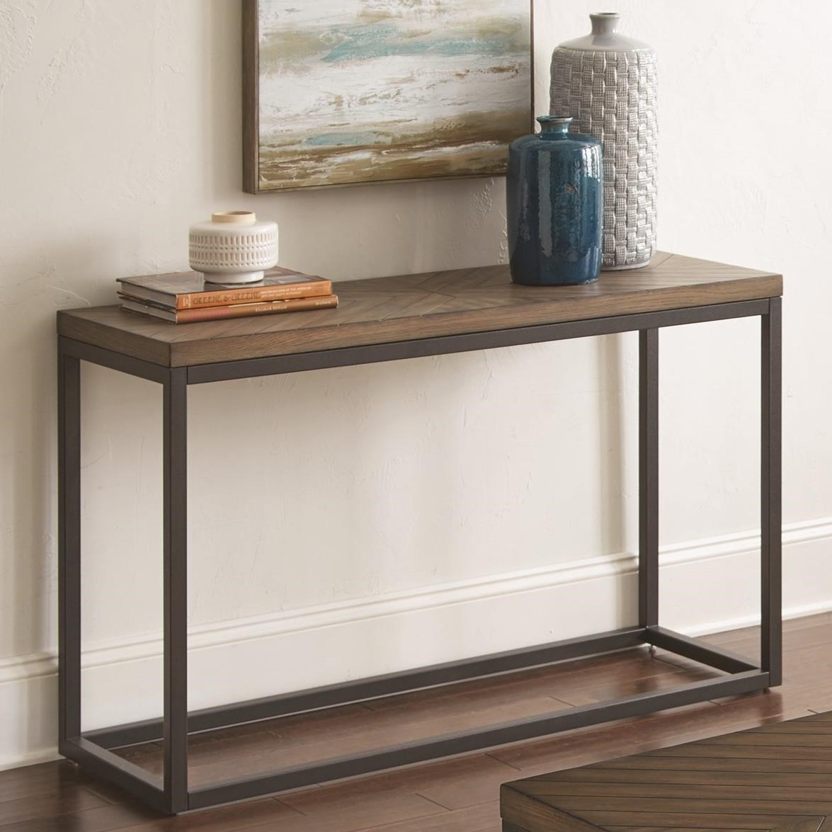Aleka Sofa Table by Steve Silver at Walker's Furniture