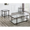 Steve Silver Alley Occasional Table Group - Item Number: AY3000B+T