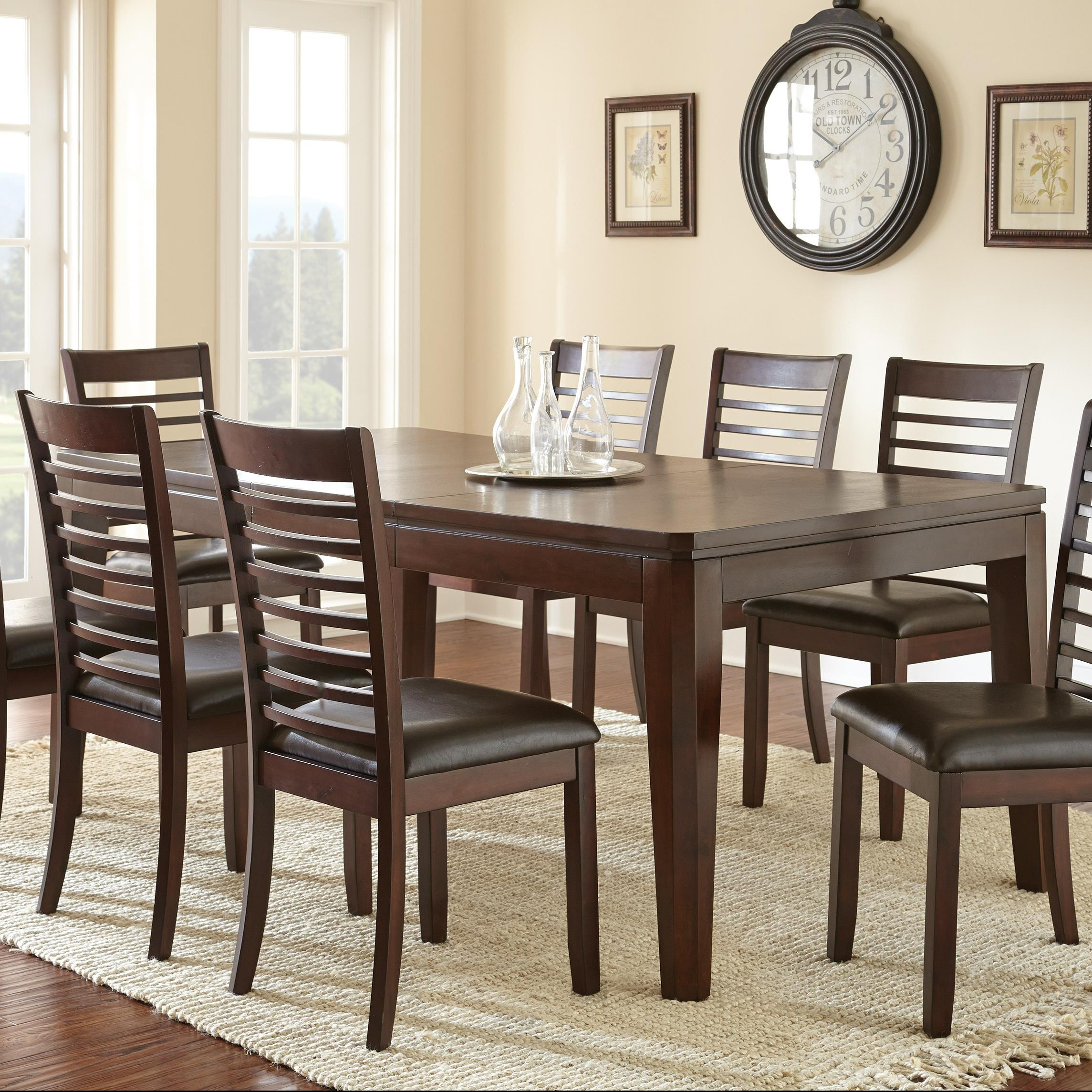 Steve Silver Allison Dining Room Table - Item Number: AS700T