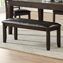 Morris Home Ally Dining Bench - Item Number: AS700BNC