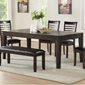 Morris Home Ally Dining Table - Item Number: AS700TC