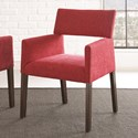 Morris Home Amalie Dining Arm Chair - Item Number: AL350SR