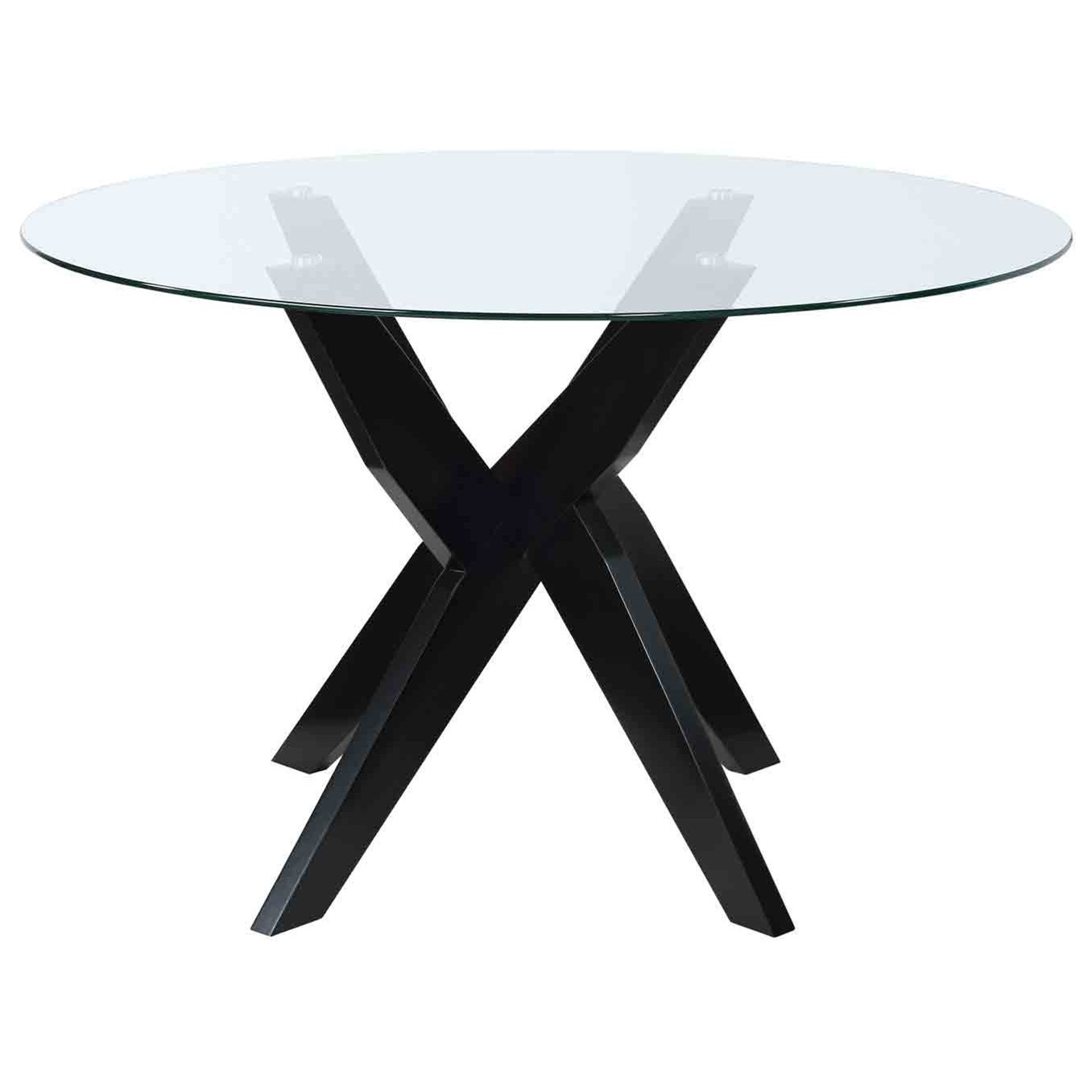 Amalie Dining Table by Steve Silver at Van Hill Furniture