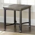 Steve Silver Ambrose Industrial Square End Table - Item Number: AM200E