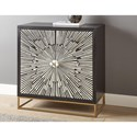 Steve Silver Amika Accent Cabinet - Item Number: AM200SB