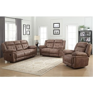 Prime Anastasia Reclining Living Room Group
