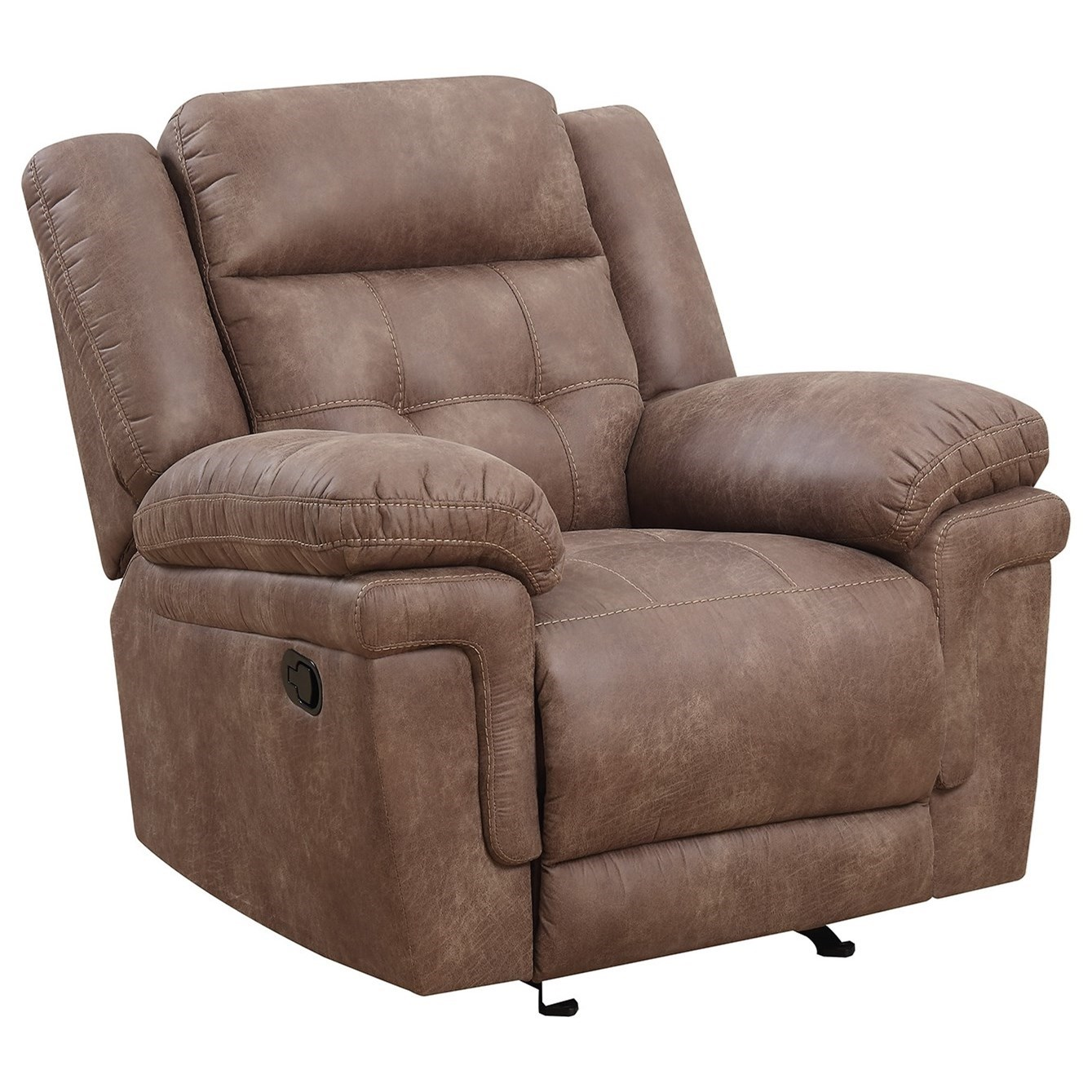 Anastasia Glider Reclining Chair by Steve Silver at Van Hill Furniture