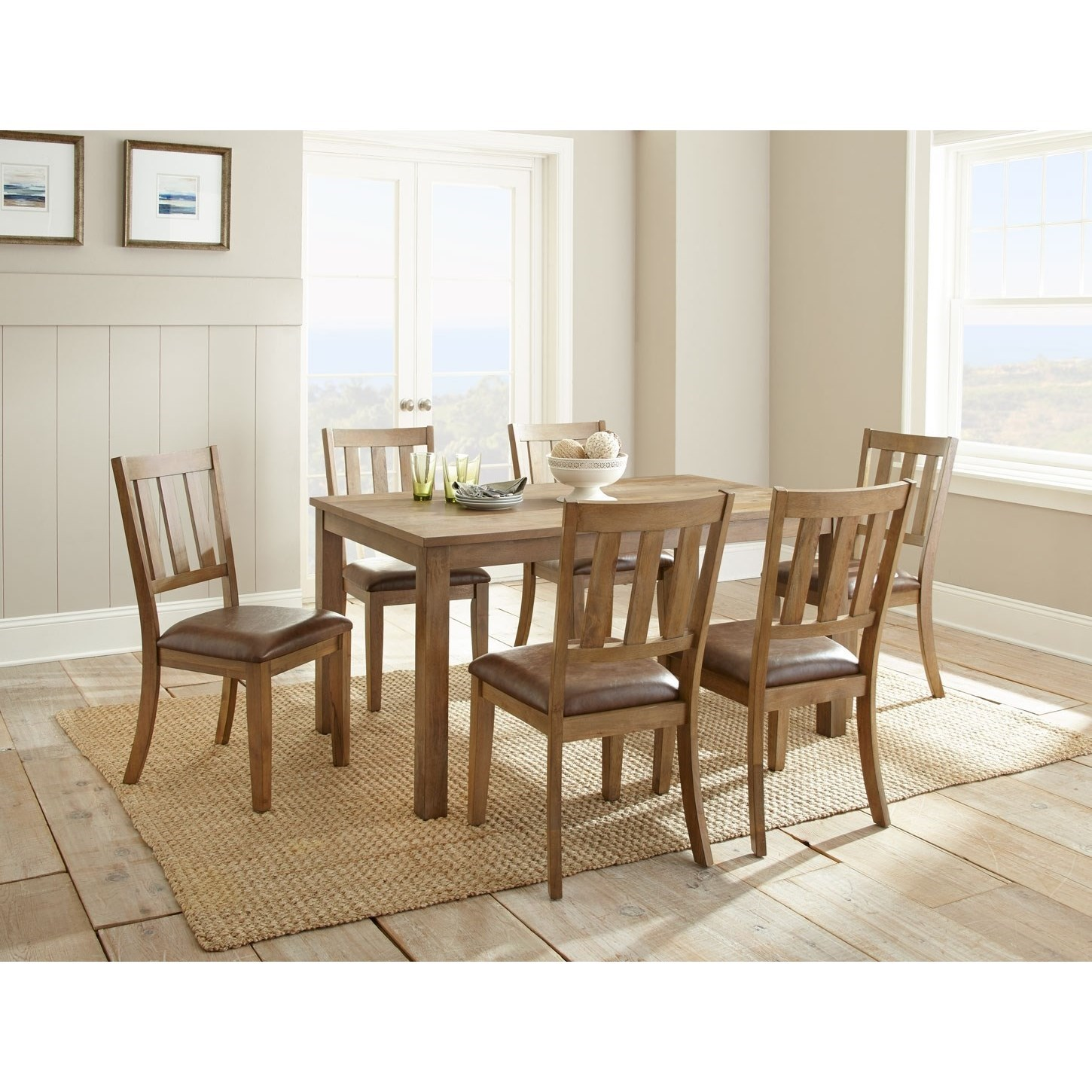 Ander Seven Piece Dining Set by Steve Silver at Van Hill Furniture