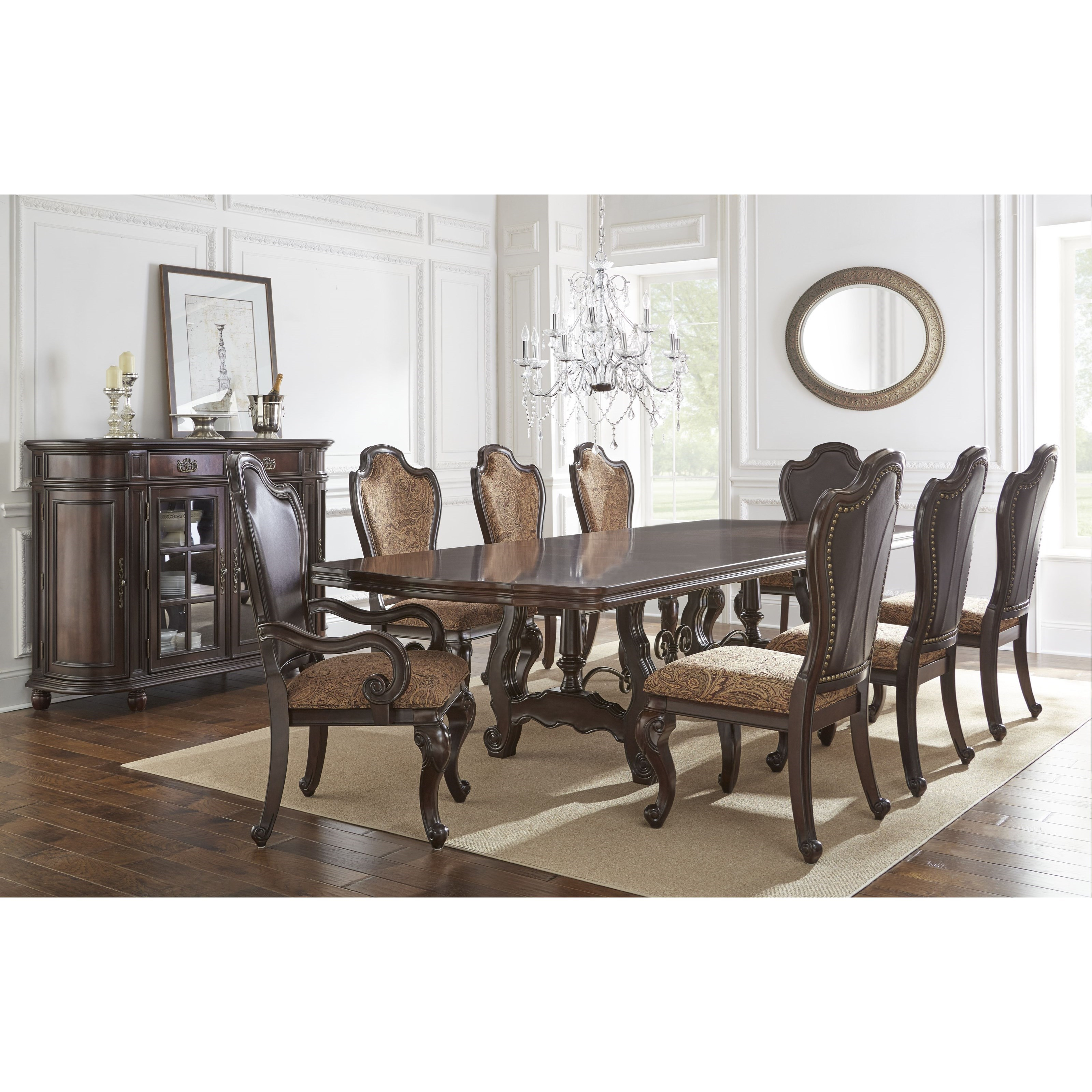 Steve Silver Angelina Formal Dining Room Group Wayside Furniture Formal Dining Room Group